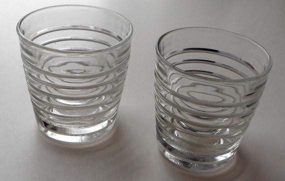 1950's Glass Tumblers