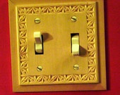 beautiful chip carved light switch plates