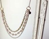 Antique Pink Necklace