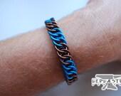 Harry Potter Hogwarts Bracelet - Ravenclaw (Stripe Style)