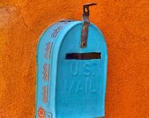 Santa Fe Mailbox - 8x10 Giclee Print