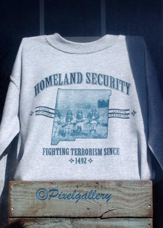 Santa Fe Homeland Security - Fighting Terrorism Since 1492 - 5x7 Fine Art Giclee Print
