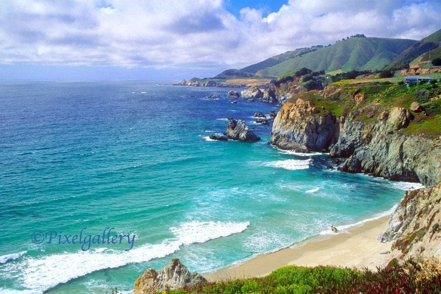 California Coast Pacific Coast Highway Scenic Ocean View
