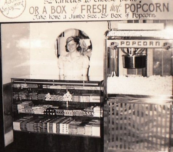 Concession Stand For Theater Room With Images: 1940s Concession Stand Roxy Theater Vintage Photo