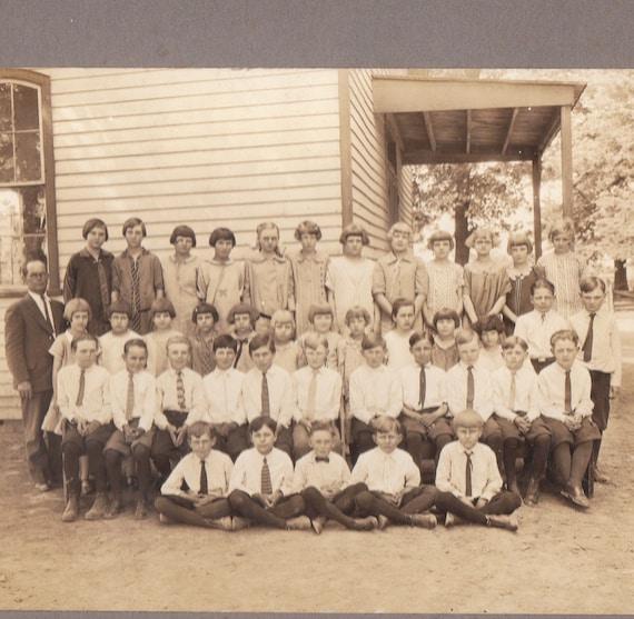 1920s Centralia, Illinois Class Portrait- Original Vintage Photo
