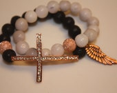 Sideways Cross Bracelet A Wing And A Prayer