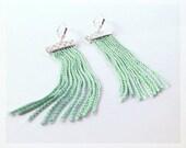 Brea Earrings (mint/silver)