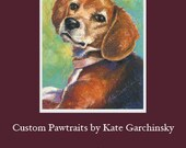 Gift Card for Custom Animal Portrait - Receive giftcard by 12/21