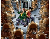 Bill & Ted and Daleks: Most Heinous 11x17