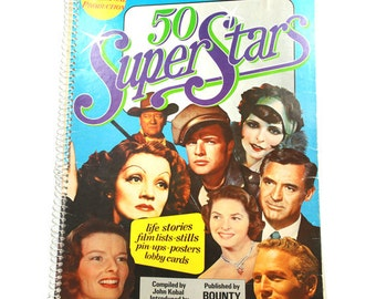 Movie Star Posters 50 Super Stars Book