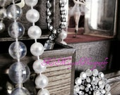 Old Fashioned Jewelry Box and Ballerina, Fine Art Print, 8x10