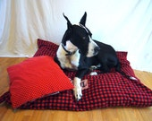Great Dane Giant Breed XXL Dog Bed And Pillow Set Made To Order