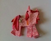 My Little Pony ribbon sculpture hair clip