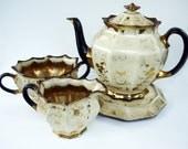 Tea Set Antique Victorian Tea Set c.1890