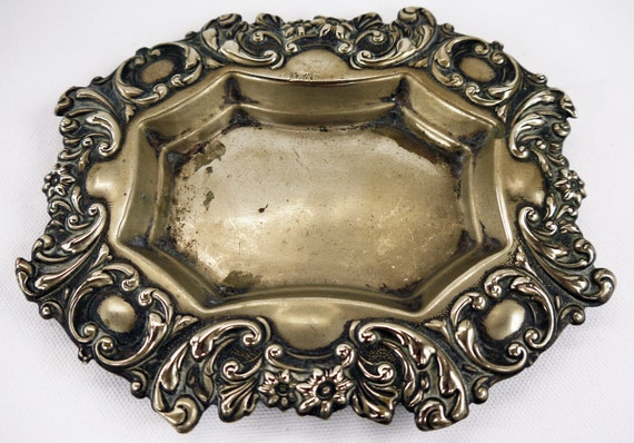 Victorian Calling Card Tray 1890s