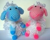 Amigurumi Pattern, Amigurumi Lamb Pattern - Crochet sheep pattern, pdf
