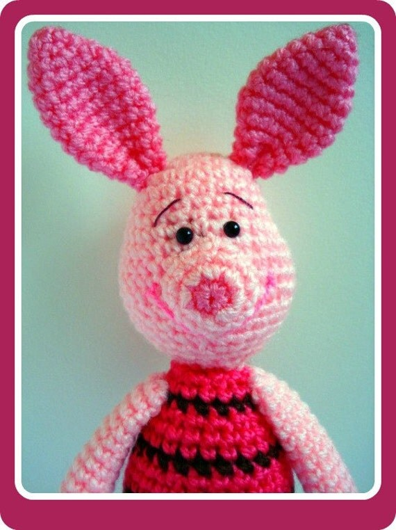 Amigurumi Disney Tutorial : Pattern Crochet Pattern Amigurumi Pattern PDF by AllSoCute ...