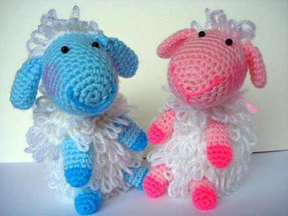 Etsy Amigurumi Sheep : Items similar to Amigurumi Pattern, Amigurumi Lamb Pattern ...