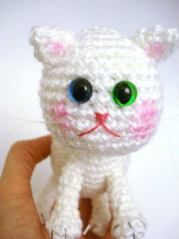 Tutorial Amigurumi Kitty : Pattern, Tutorial, Amigurumi Pattern, Amigurumi Cat ...