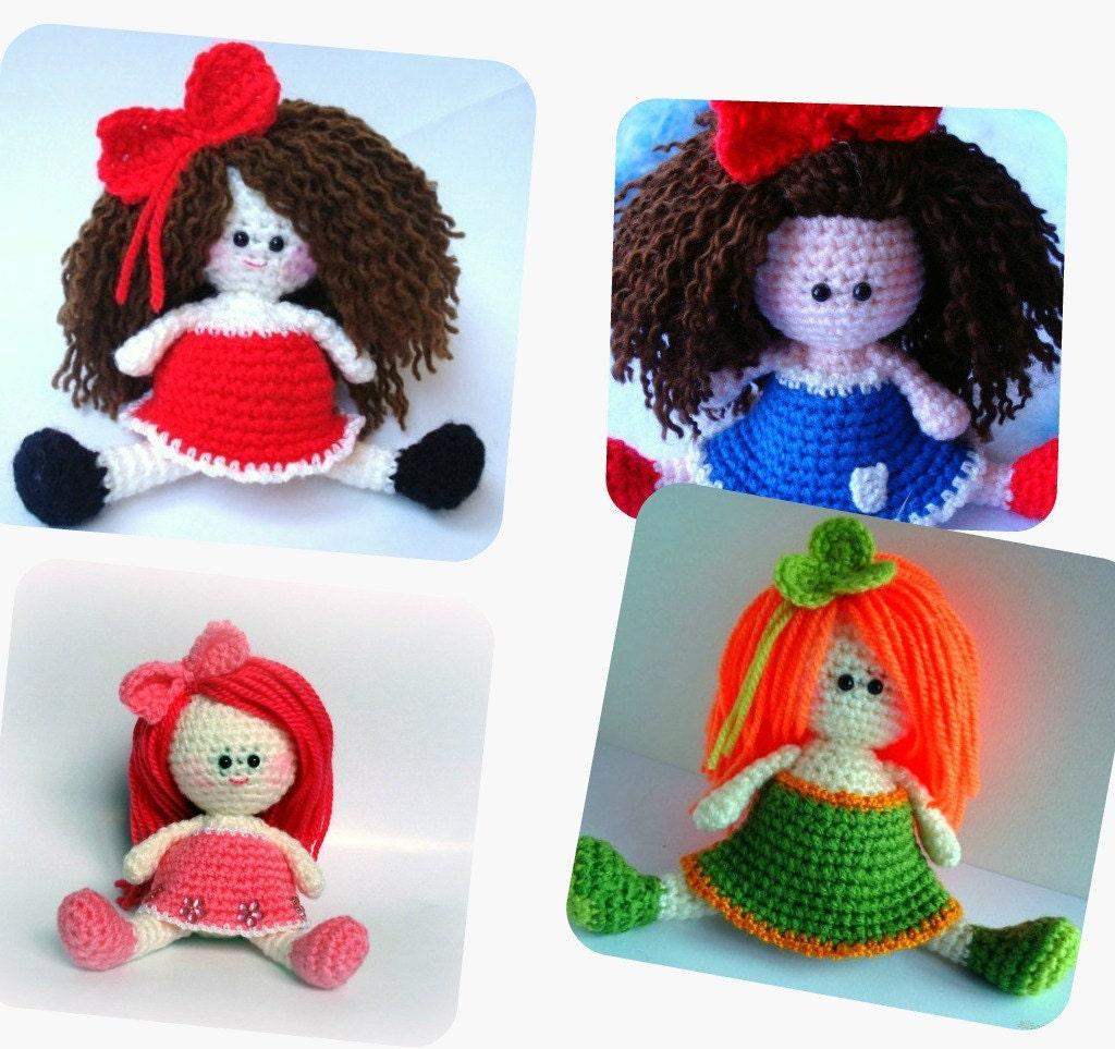 Amigurumi Askina Doll Pattern : Pattern Amigurumi Doll Pattern Amigurumi Girl Pattern