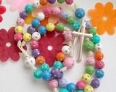 Sparkling Rainbow Rosary III (10037)