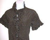 Yves Saint Laurent Vintage Silk Blouse YSL