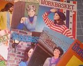 Workbasket Book Lot of Ten 1972