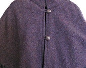 Irish wool capelet suit