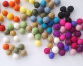 Wholesale 100 count 20mm Felted balls by YUMMI