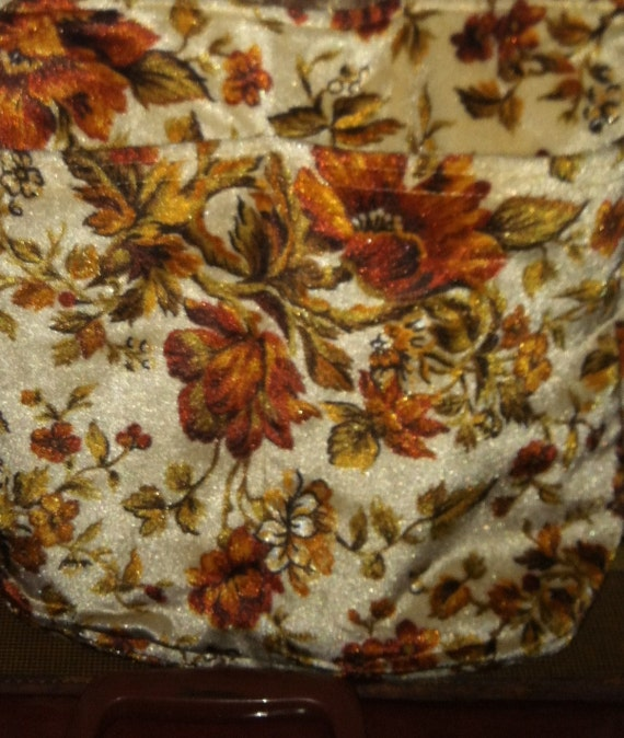Items similar to awful vintage floral print 80s couch for 80s floral couch