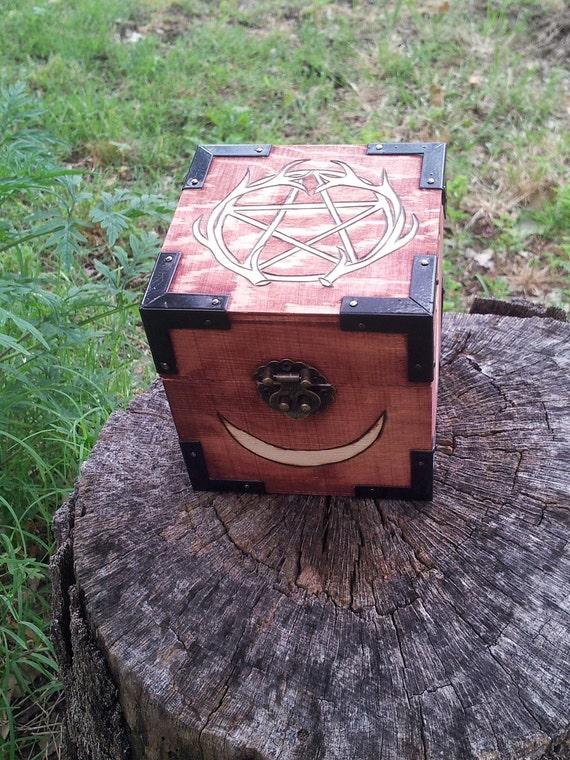 Antler Pentacle Goddess Box