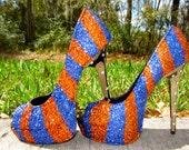 Glitter Gators or Broncos Heels