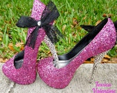 Glitter Heels in any Color