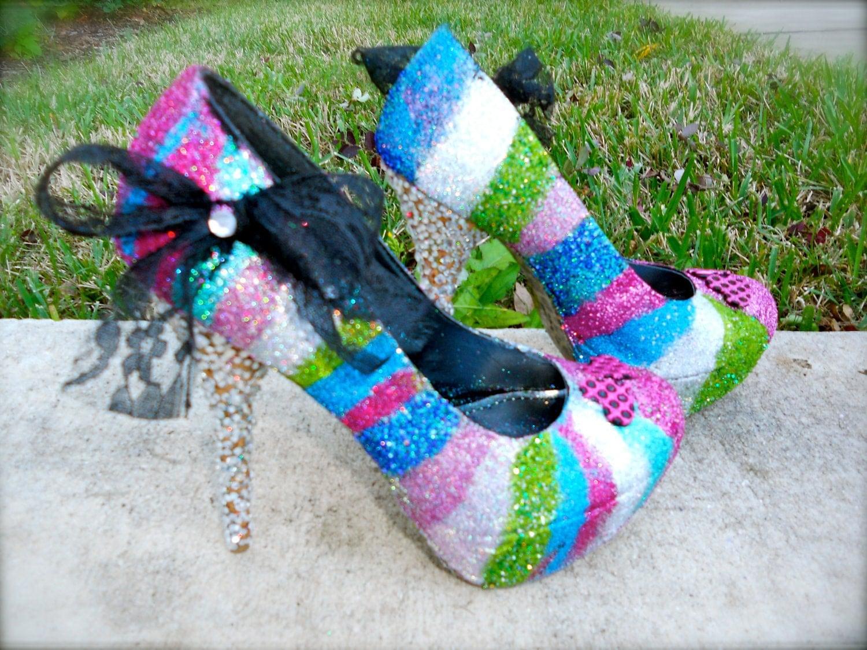 Coloured heels mobile photo 39