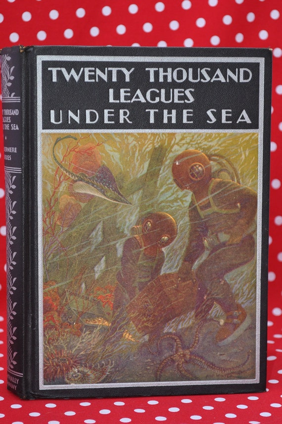 Twenty Thousand Leagues Under the Sea, 1938 Rand McNally Edition