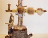 Pipe Peace Pipe Native Fur