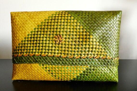Modern Classic,  Cendarapuri Pandan Leaves Clutch