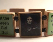 So Wicked Scrabble Bracelet