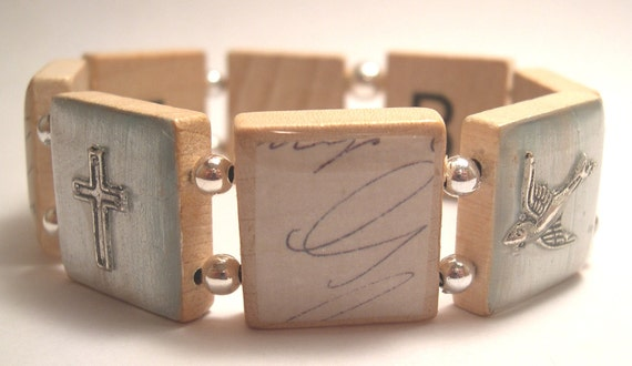 Believe Scrabble Bracelet