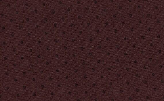 "SALE---50% OFF---Thimbleberries ""Sedona Skies"" Plum Dotted Cotton Fabric Destash"