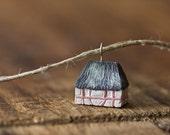 tiny danish farmhouse necklace