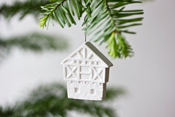 German Half-Timbered House ornament