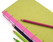 Upcycled Journal, Cherry Limeade - ON SALE
