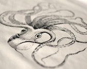 Cotton Tote Bag - Octopus