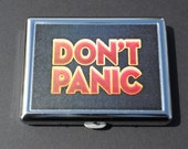 Don't Panic Cigarette Case/Flat Wallet