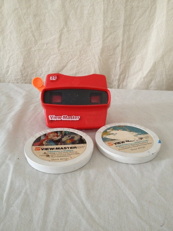 Vintage 3D view master with Reels