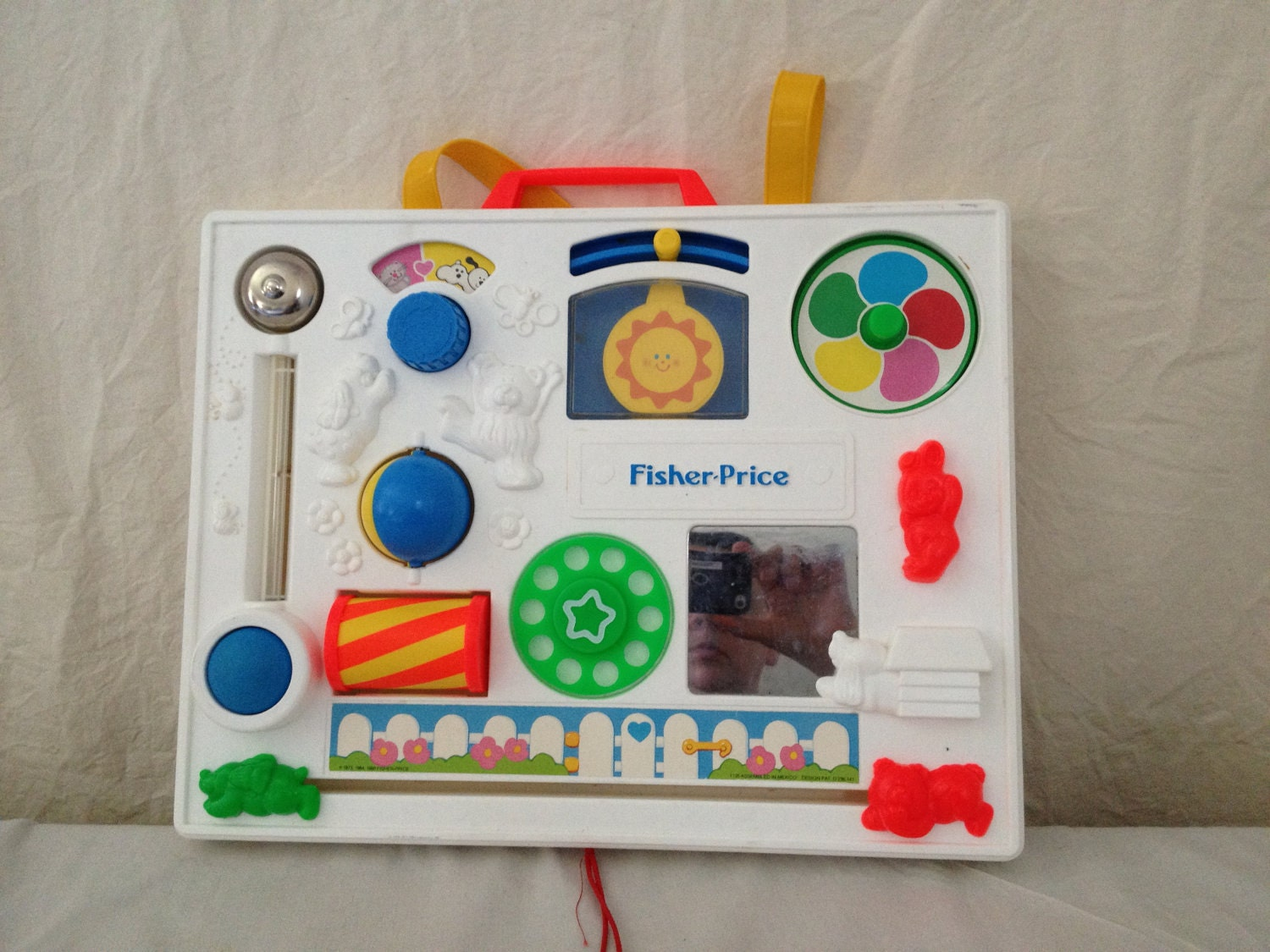 Fisher Price Crib Toys : Fisher price vintage crib toy for collector only