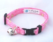 Cat Collar - Pink Flowers