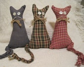 Primitive country craft kitties