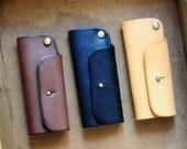 Artemis Leatherware Handmade Mini Leather Key Holder